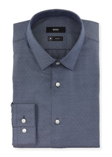 Hugo Boss Men's Slim-Fit Travel Dress Shirt