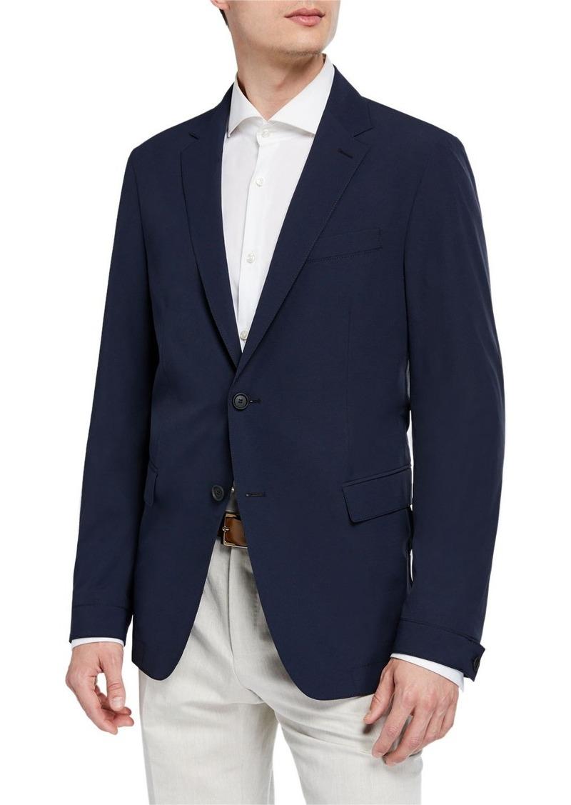 Hugo Boss Men's Slim-Fit Travel Two-Button Jacket