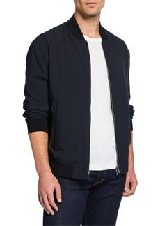 Hugo Boss Men's Solid Bomber Jacket
