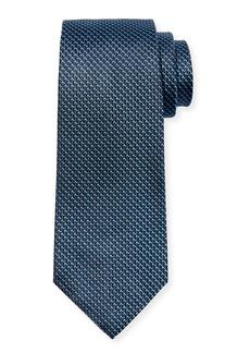 Hugo Boss Men's Textured Silk Tie