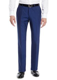 Hugo Boss Men's Wool Flat-Front Pants
