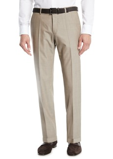 Hugo Boss Men's Wool Straight-Leg Trousers