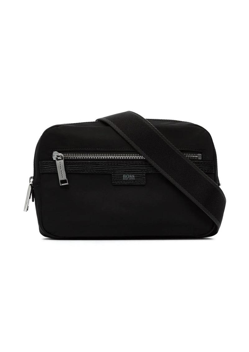 Hugo Boss Meridian logo patch belt bag