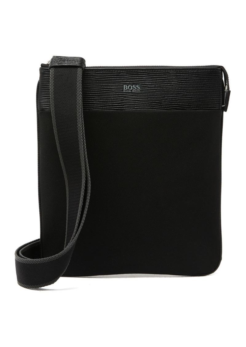 Hugo Boss Meridians Zip Envelope Messenger Bag