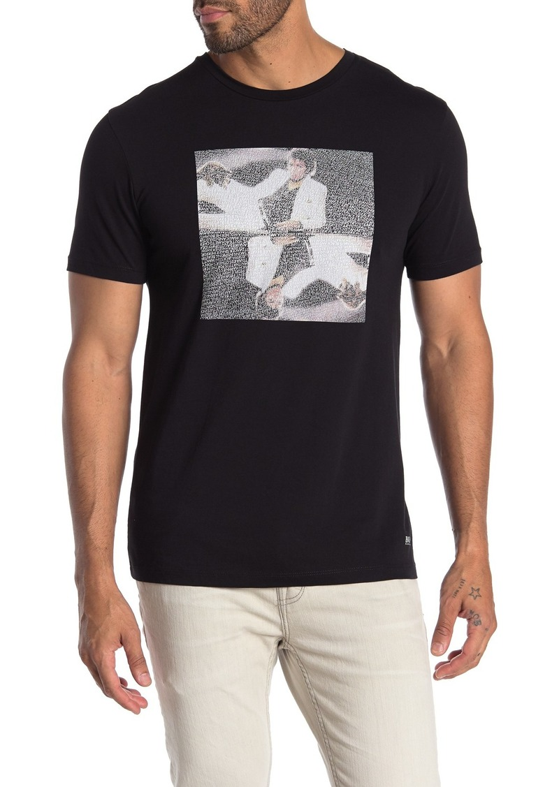 Hugo Boss Michael Jackson On The Wall Graphic T-Shirt