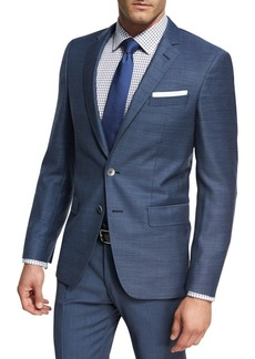 Hugo Boss Micro-Check Wool Sport Coat