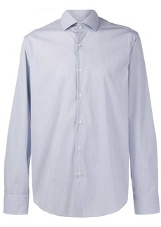 Hugo Boss micro-pattern shirt