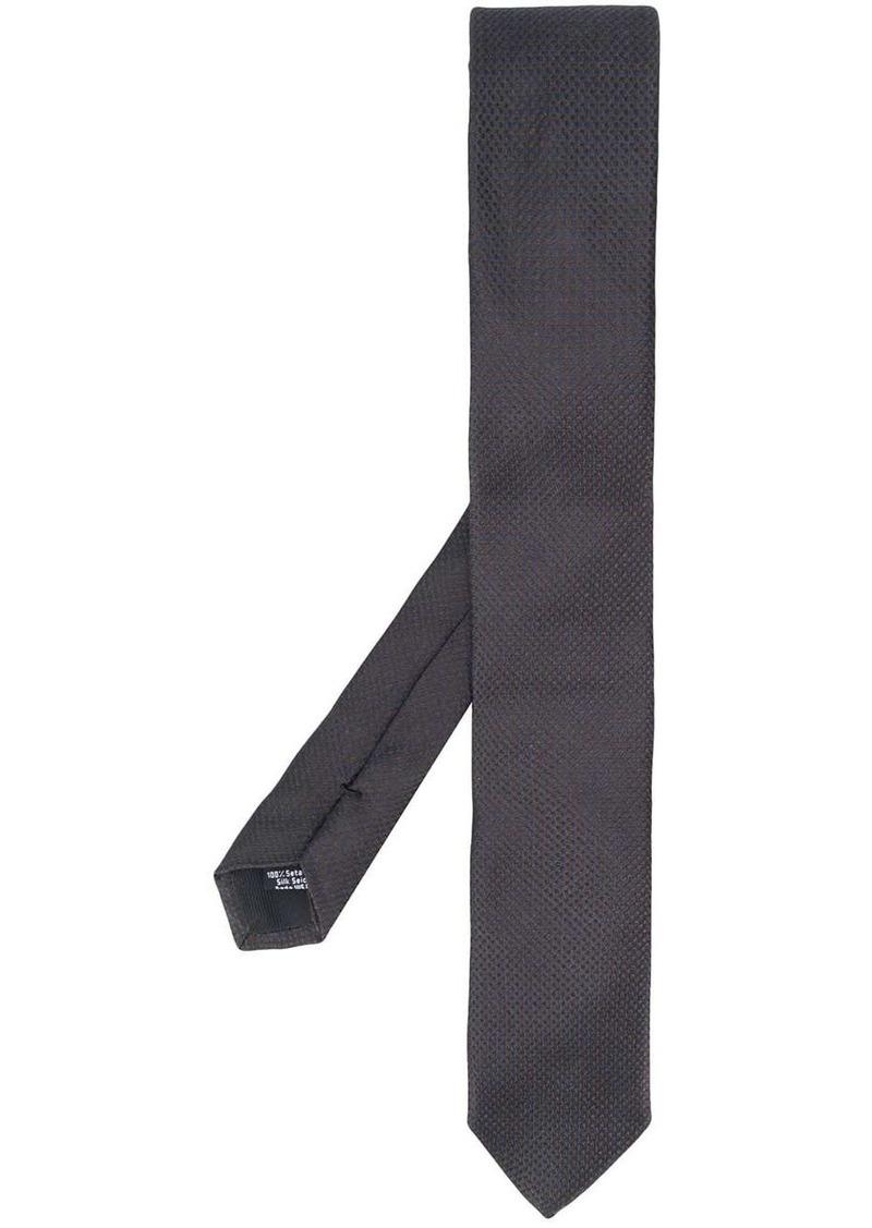 Hugo Boss micro-patterned tie