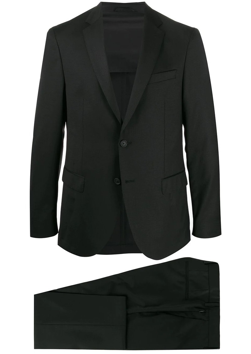 Hugo Boss micro-patterned two-piece suit