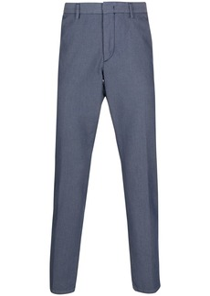 Hugo Boss micro-woven straight trousers
