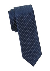 Hugo Boss Microdot Silk Slim Tie