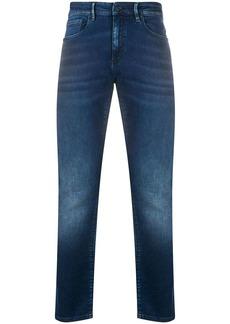 Hugo Boss mid-rise slim-fit jeans