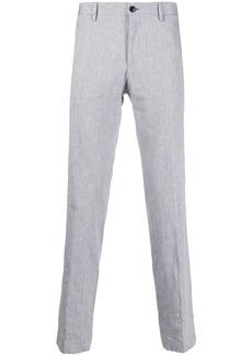 Hugo Boss mid-rise slim fit trousers