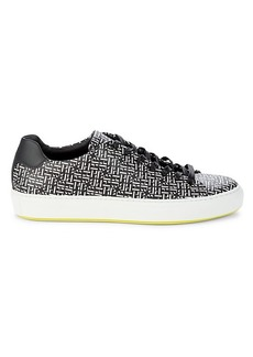 Hugo Boss Mirage HB Logo Print Tennis Sneakers