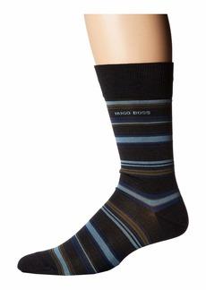 Hugo Boss Multistripe Dress Sock