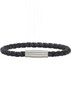 Hugo Boss Navy Braided Single Wrap Blaine Bracelet