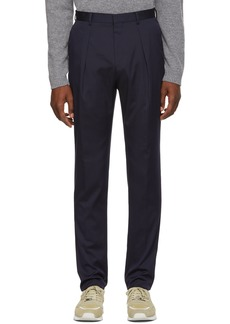 Hugo Boss Navy Ole Stretch Trousers