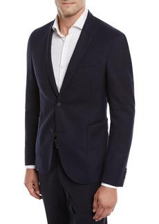 Hugo Boss Nelven Slim-Fit Two-Button Virgin Wool Jacket
