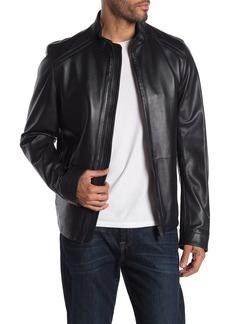 Hugo Boss Nestal Lamb Leather Jacket