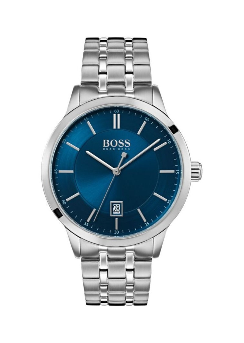 Hugo Boss Officer Stainless Steel Bracelet Watch