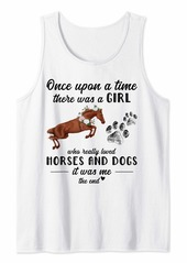 Hugo Boss Once Upon A Time There Was A Girl Who Loved Dogs And Horses Tank Top