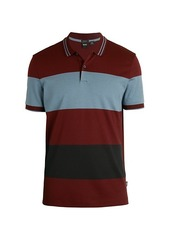 Hugo Boss Parlay Colorblock Cotton Polo