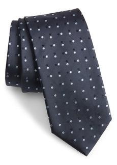 Hugo Boss Patterned Silk Tie