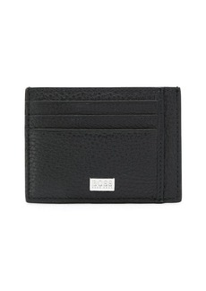 Hugo Boss pebble leather card holder