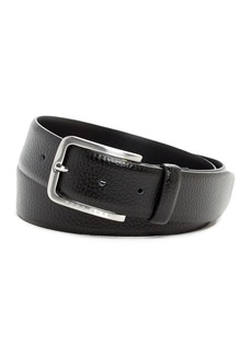 Hugo Boss Pebbled Leather Belt