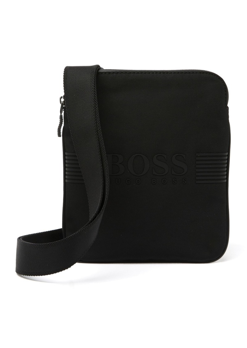 Hugo Boss Pixels Zip Envelope Messenger Bag