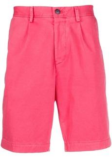 Hugo Boss pleated-front chino shorts