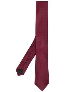 Hugo Boss pointed tip silk tie