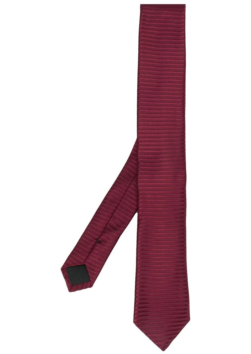 Hugo Boss pointed tip silk tie