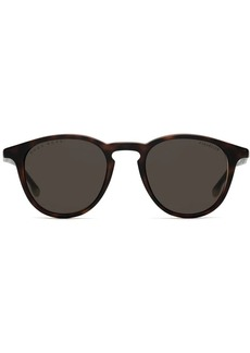 Hugo Boss polarized round sunglasses