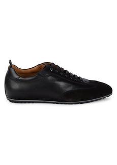Hugo Boss Portobello Leather Sneaker