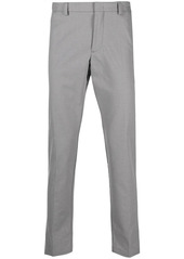 Hugo Boss pressed-crease tailored trousers