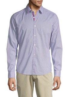 Hugo Boss Printed Button-Down Shirt