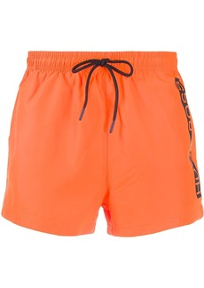 Hugo Boss printed logo swim shorts
