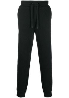 Hugo Boss quilted track pants