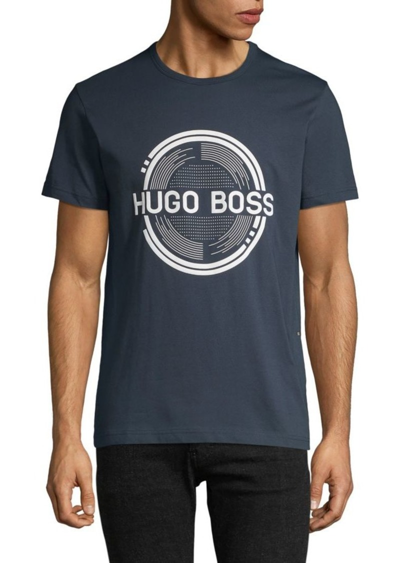 Hugo Boss Record Logo T-Shirt