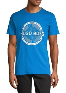 Hugo Boss Regular-Fit Logo Cotton Tee