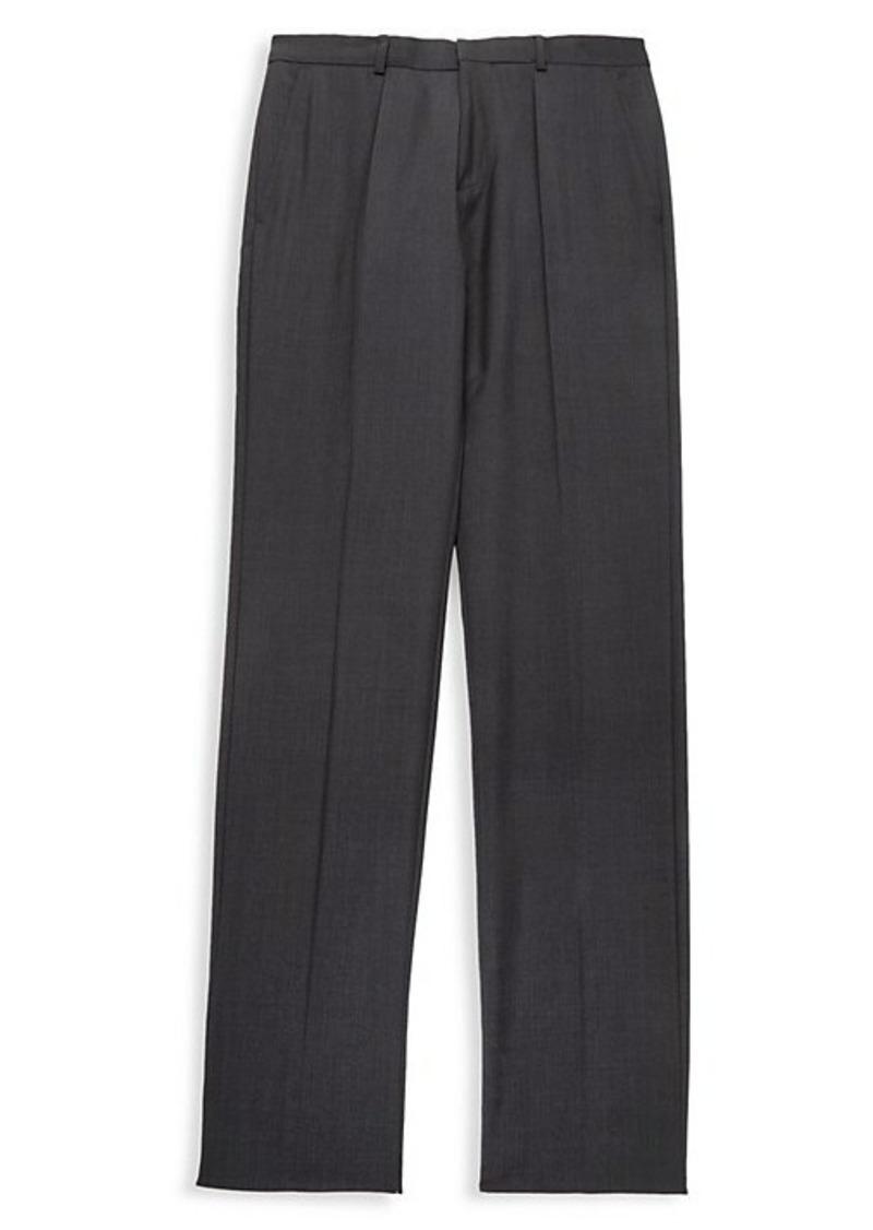 Hugo Boss Regular-Fit Wool Pants