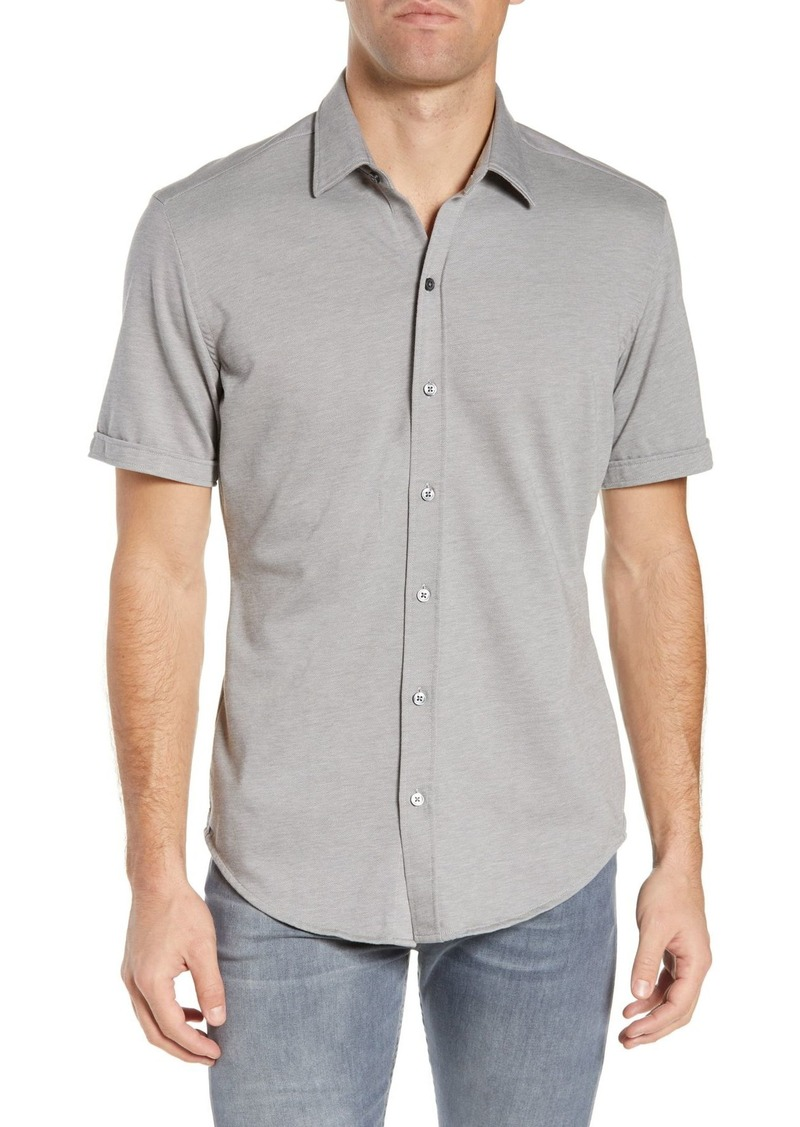 Hugo Boss Robb Short Sleeve Slim Fit Casual Shirt