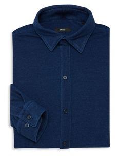 Hugo Boss Robbie Sharp-Fit Cotton Dress Shirt