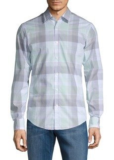 Hugo Boss Ronni Plaid Button-Down Shirt