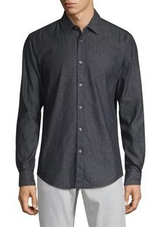 Hugo Boss Ronni Printed Button-Down Shirt