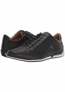 Hugo Boss Saturn Low Profile Leather Sneaker by BOSS
