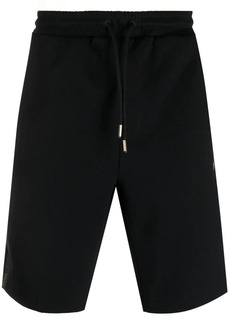 Hugo Boss side logo-stripe shorts