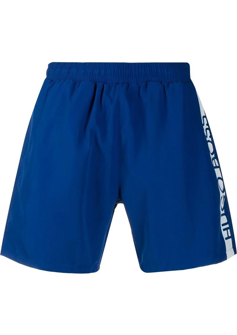 Hugo Boss side logo swim shorts