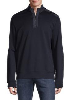 Hugo Boss Sidney Quarter-Zip Pullover